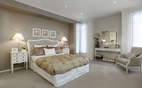 light brown paint bedroom room Light brown feature wall | bedroom | Pinterest | Master