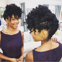25+ best ideas about Black hairstyles updo on Pinterest