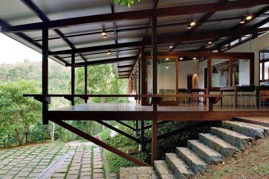 Dal Pian Arquitetos Associados Residncia Ubatuba SP  Madeira Sono e Separar