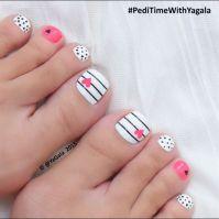 25+ Best Ideas about Toe Nail Art on Pinterest   Pedicure ...