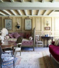 Rustic French Country living Room from Cote Sud home decor ...