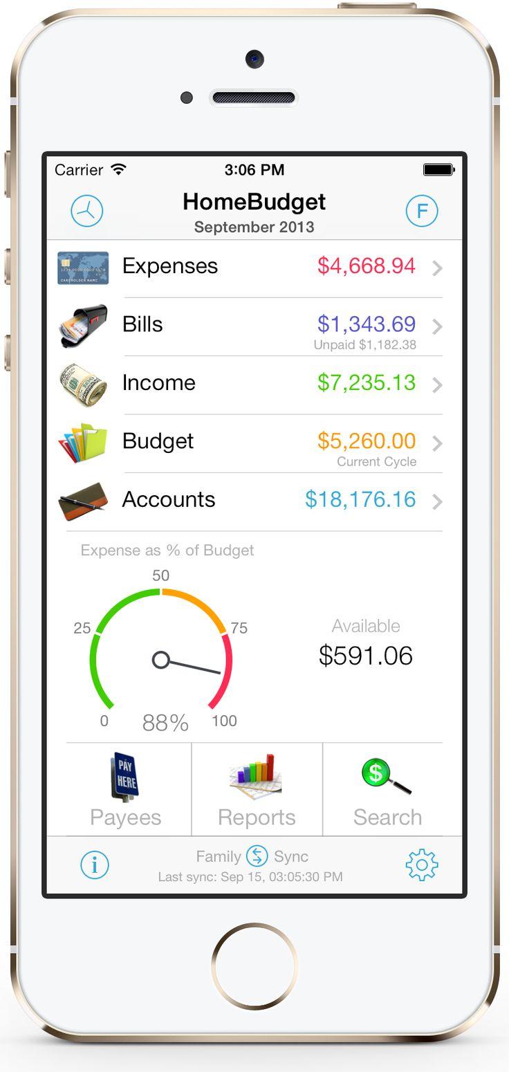 homebudget app