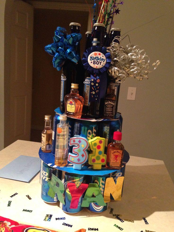 Pinterest Inspired Birthday Cake For My Boyfriends 31st