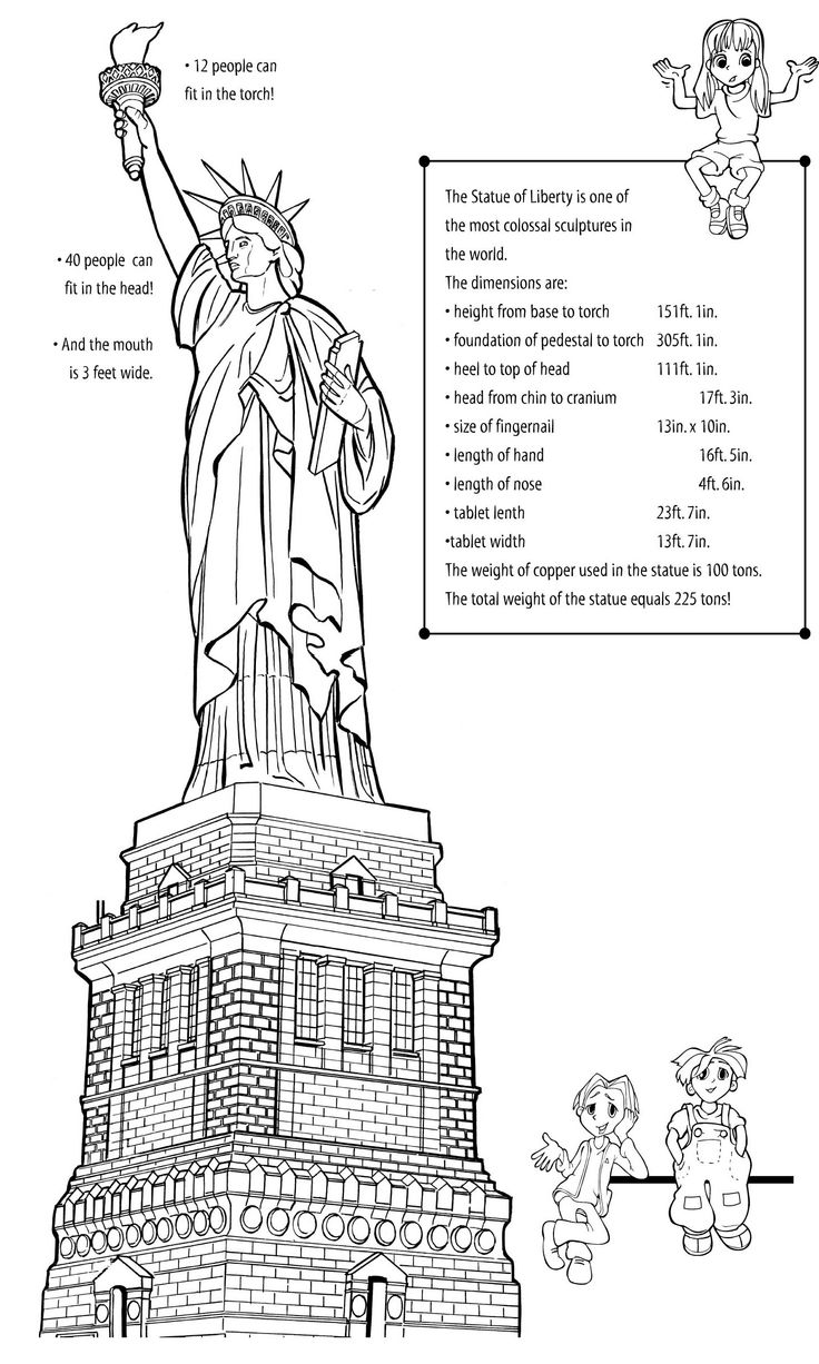 62 best images about activities for my Statue of Liberty