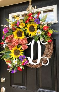 25+ best Summer door wreaths ideas on Pinterest