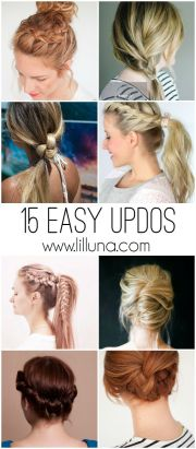 easy updos lengths