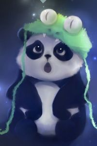 This is a cute panda drawing i found its adorable: Iphone ...