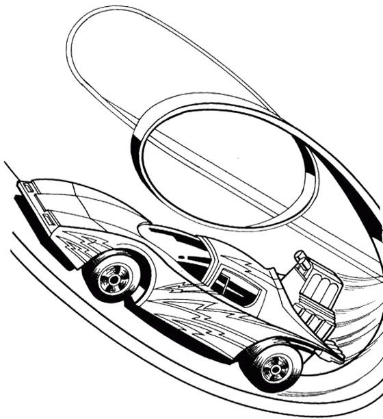 Hot wheels, Coloring pages and Track on Pinterest