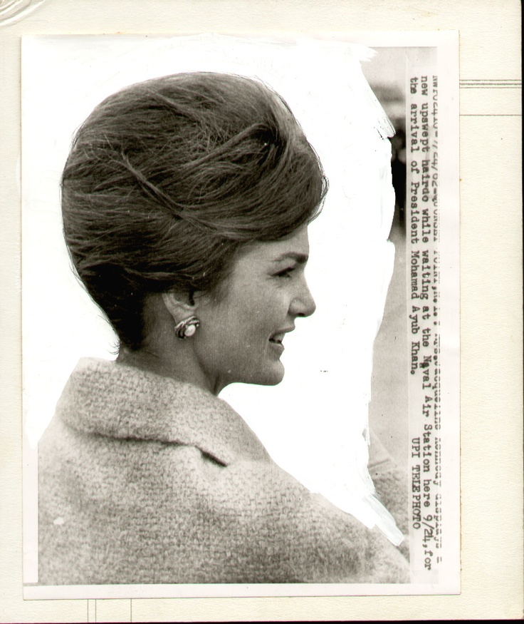 36 Best Images About Jackie Kennedy's Hairstyles On Pinterest