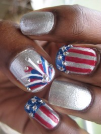 46 best images about 4th July Nails on Pinterest | Nail ...