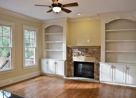 Built In Shelves Around Fireplace Alotnumber Cozy