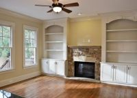 built-in shelves around fireplace | ... [ALotnumber]Cozy ...
