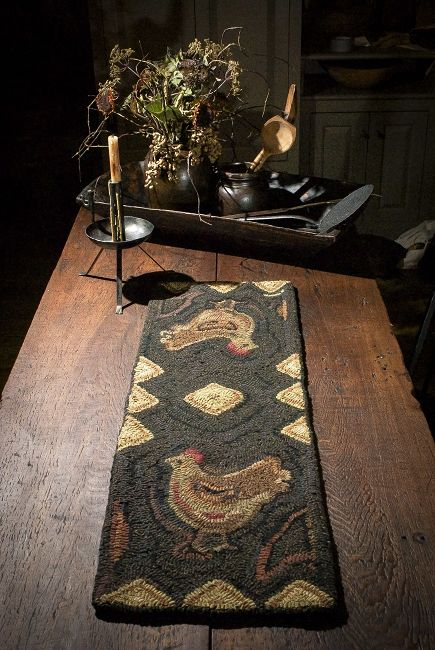 102 best images about Primitive Rug Hooking Patterns by