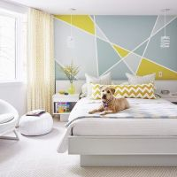 25+ best ideas about Geometric wall on Pinterest ...