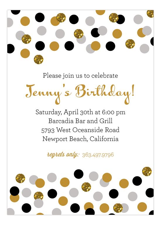 25 Best Glitter Invitations Images On Pinterest