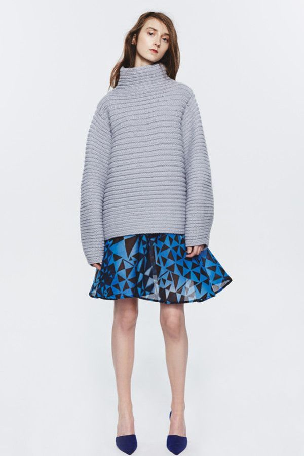 knitGrandeur: Berenika Czarnota, Blue Moon F/W 2015