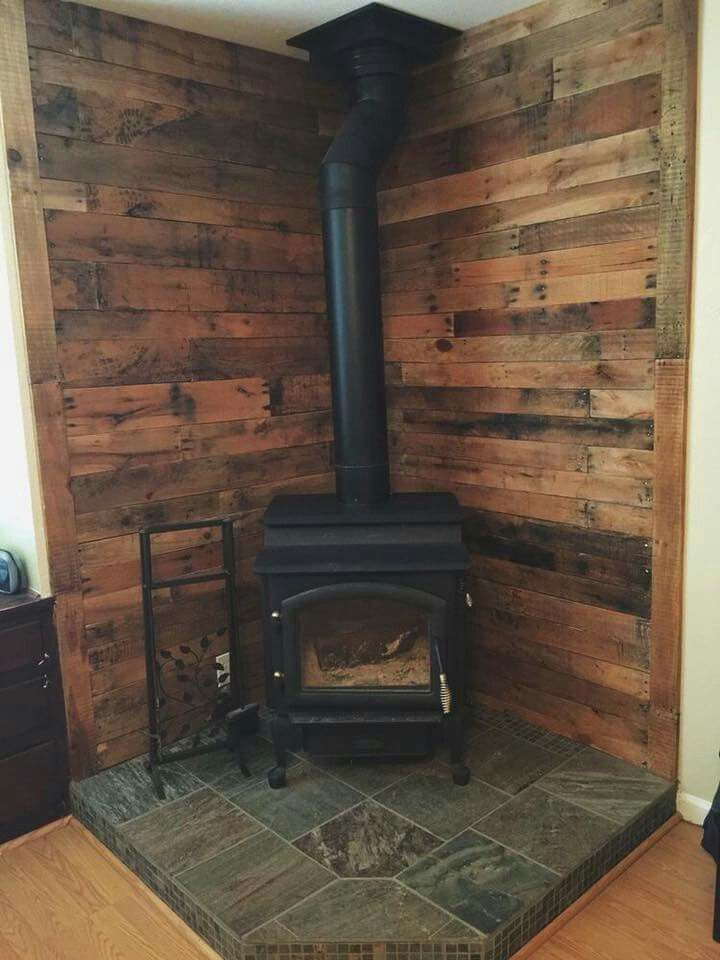 25+ Best Ideas about Corner Wood Stove on Pinterest