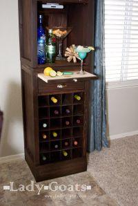 Liquor Cabinet Woodworking Plans