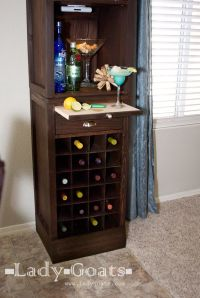 Liquor Cabinet Woodworking Plans - WoodWorking Projects ...