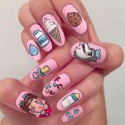 1000 ideas acrylic nail