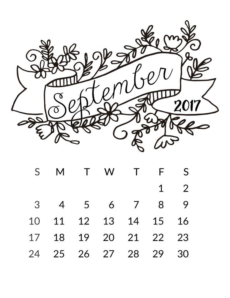 Best 25+ September calendar ideas on Pinterest