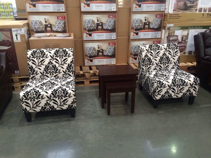 ave six chair adirondack and ottoman cypress table set | costco pinterest tables chairs