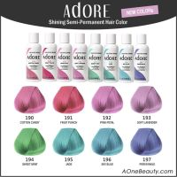 Adore By Creative Image SemiPermanent Hair Color ...