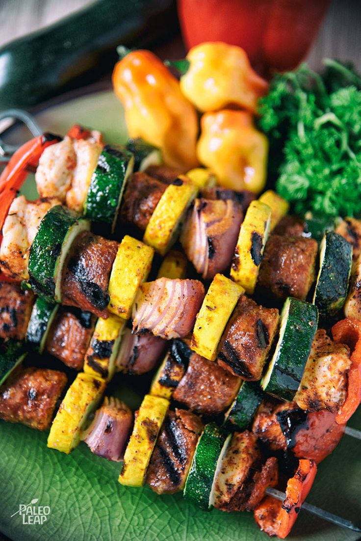 Check out cajun chicken and sausage skewers its so easy