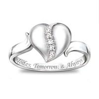 My Precious Daughter Diamond Ring | Girls, Cute rings and ...