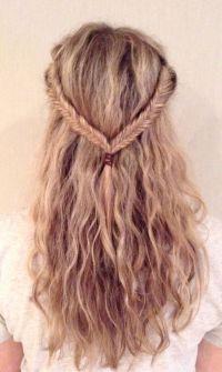 Fishnet braids | Lush locks | Pinterest | Braids and Fishnet