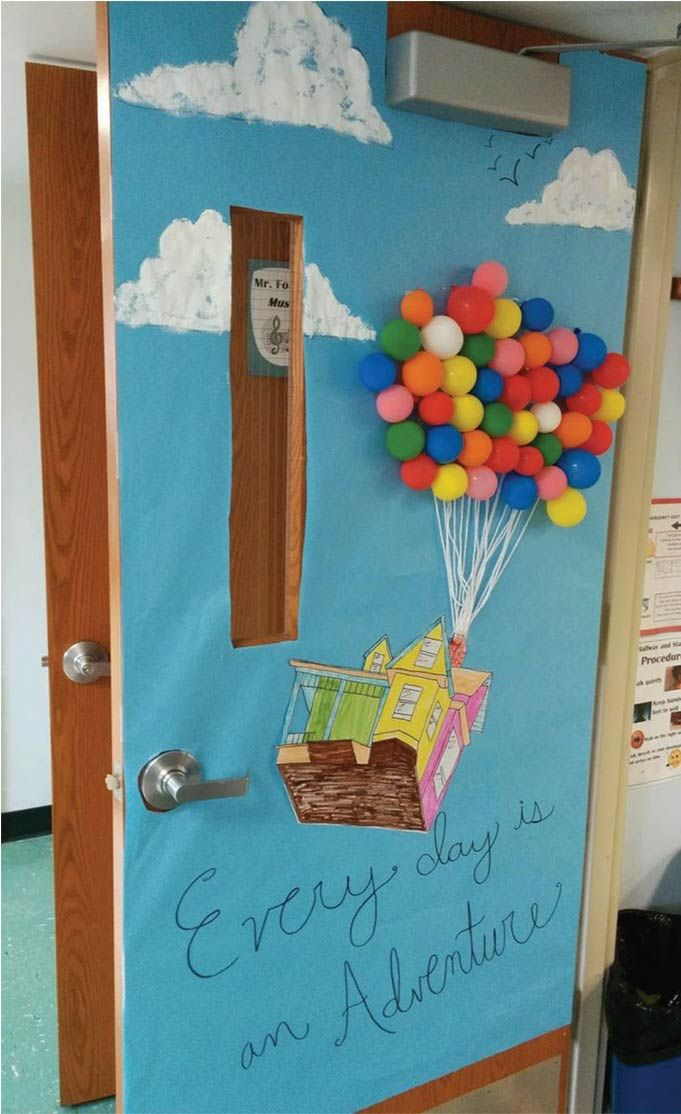 Classroom Door Hot Air Balloon Idea Visited 94 Times 1