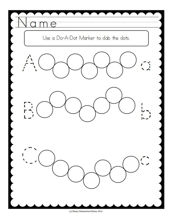Practice fine motor skills while also reviewing other