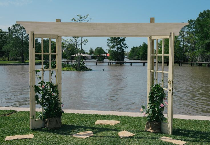 Wedding Arbor Made From Recycled French Doors Crafts