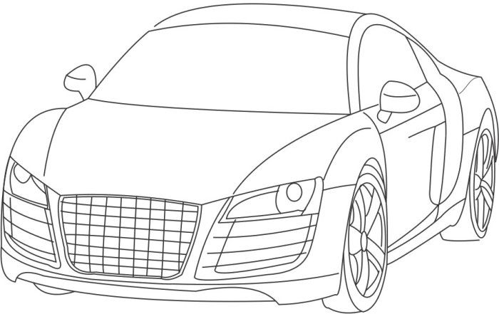 Honda Civic Coloring Pages Sketch Coloring Page