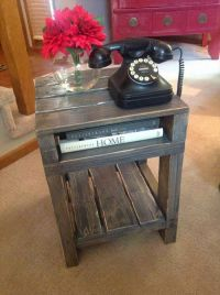 25+ best ideas about End tables on Pinterest   Wood end ...
