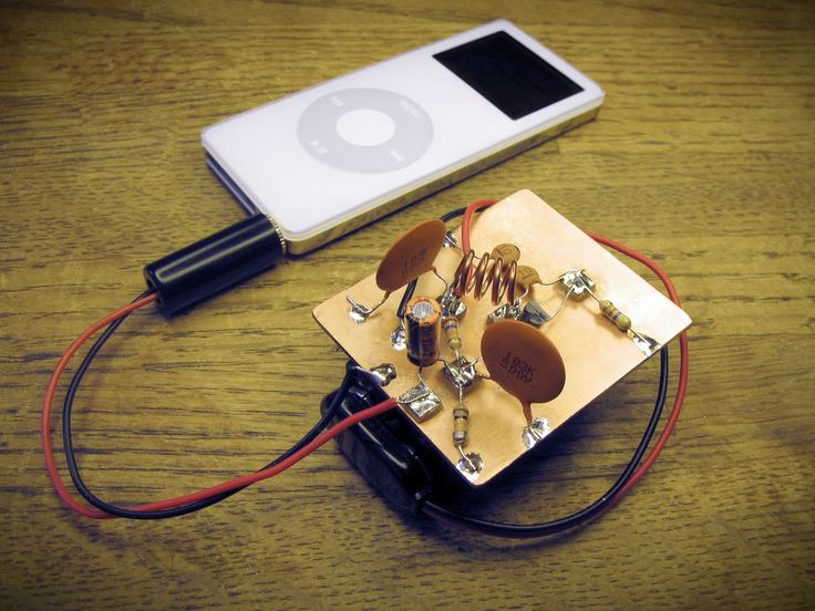 Super Simple IPod FM Transmitter Projects Simple And