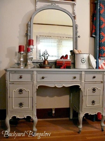 Chalk Painted Vanity It Would Be Great If You Could