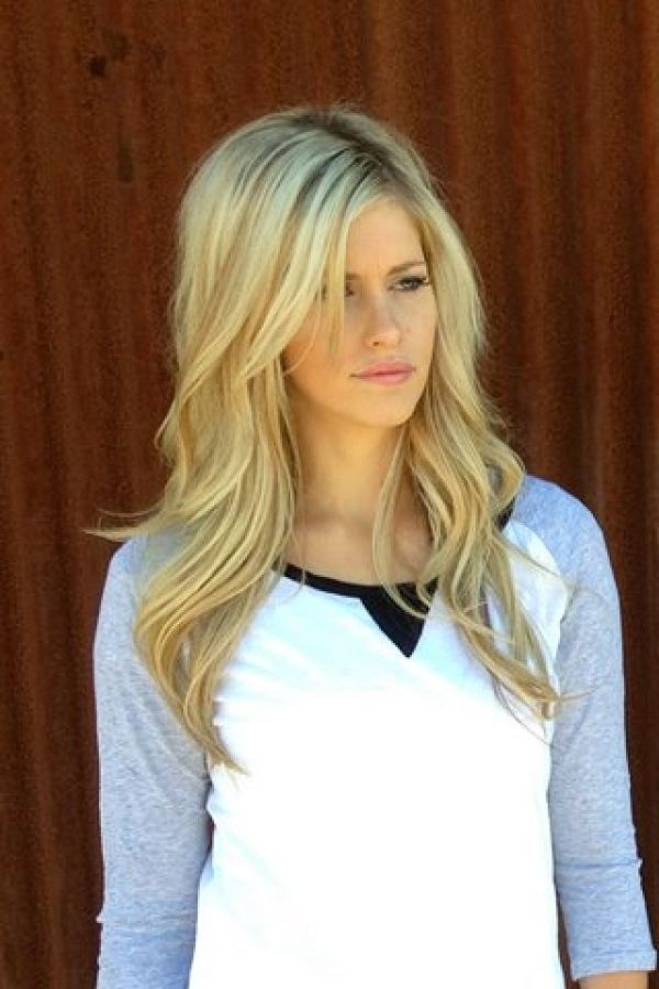 Best 25 Blonde Layered Hair Ideas On Pinterest Blonde Long