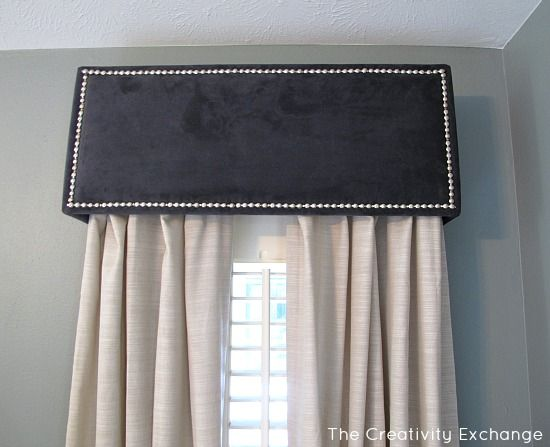 How to DIY a Pelmet or Box Valance  Window boxes