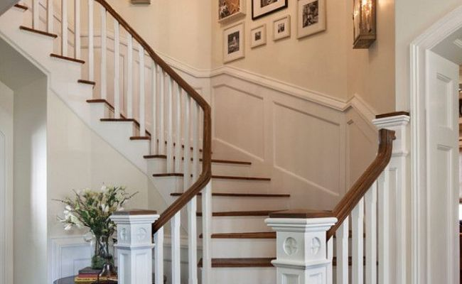 Staircase Inspiring Photo Wall Gallery Staircase