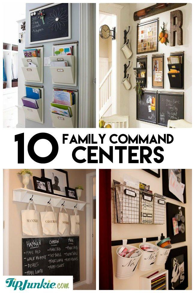 25 best ideas about Kitchen message center on Pinterest