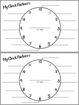 20+ best ideas about Clock Partners on Pinterest
