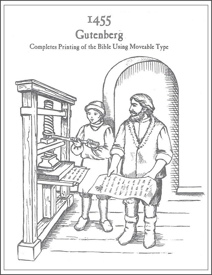 109 best images about Gutenberg (1398–1468) on Pinterest