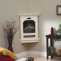 Small Corner Gas Fireplace Ideas | Things I don't have a ...
