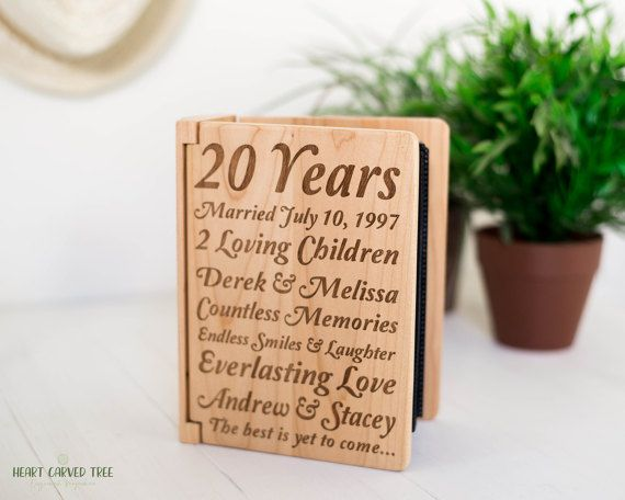 1000+ Ideas About 20th Anniversary Gifts On Pinterest