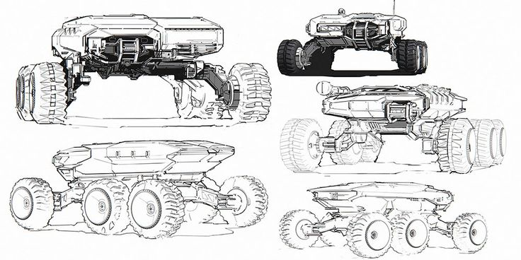 17 Best images about Sci-Fi Vehicle on Pinterest