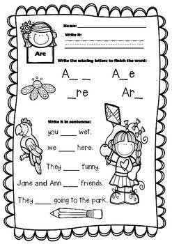 25+ best ideas about Kindergarten sight words on Pinterest