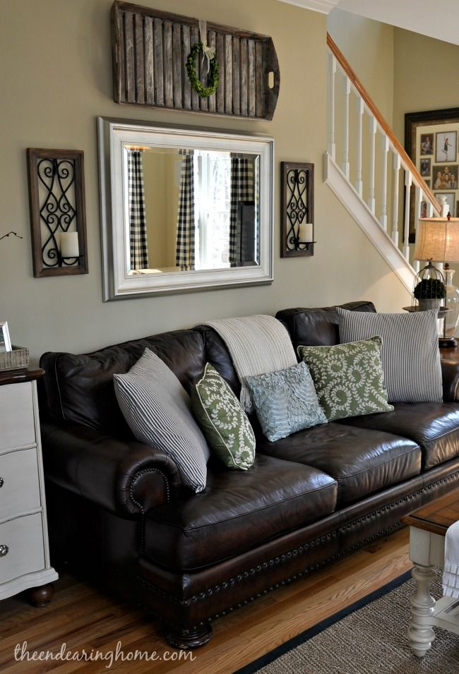 Best 20 Leather Couch Decorating Ideas On Pinterest Leather