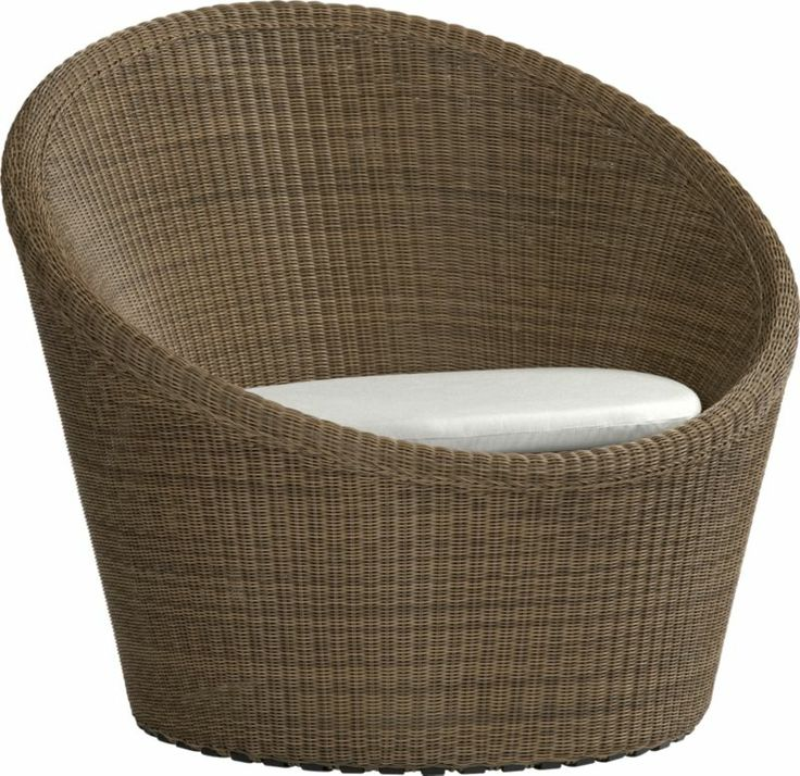Dune Swivel Lounge Chair with Sunbrella  Cushions  Sands