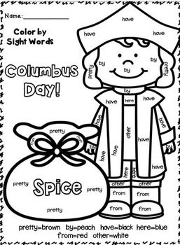 1000+ images about color by sight words on Pinterest